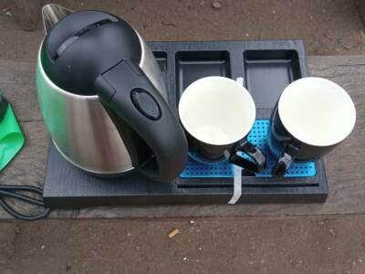 Room Kettle with Tray