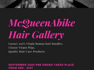 McQueenAbike Hair Gallery