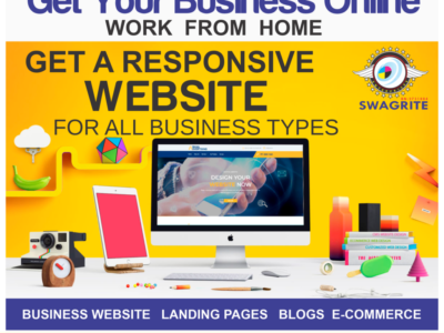 GET A WEBSITE IN 3DAY AS LOW AS 29,999 @Swagrite I