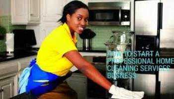Starting a Cleaning Business in Lagos State