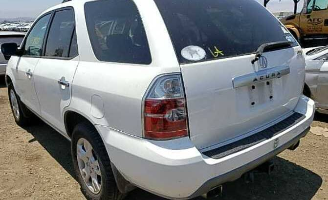 2005 ACURA MDX GOING FOR AUCTION CALL 07045512391
