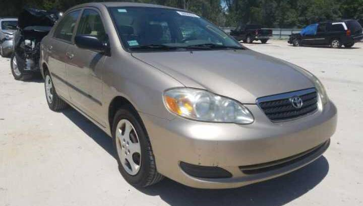 2005 TOYOTA COROLLA GOING FOR AUCTION CALL 07045512391