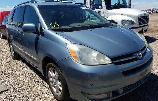 2005 TOYOTA SIENNA GOING FOR AUCTION CALL 07045512391