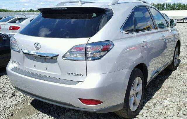 2010 LEXUS RX350 GOING FOR AUCTION CALL 07045512391