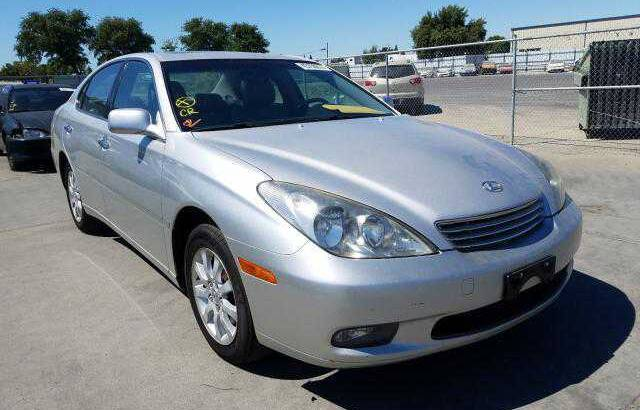 2003 LEXUS ES300 GOING FOR AUCTION CALL 07045512391