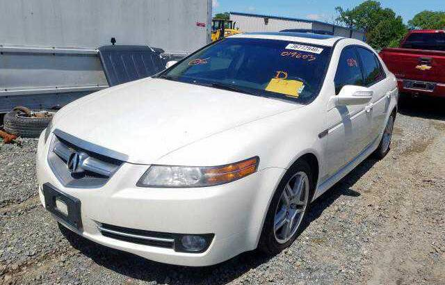 2008 ACURA TL GOING FOR AUCTION CALL 07045512391
