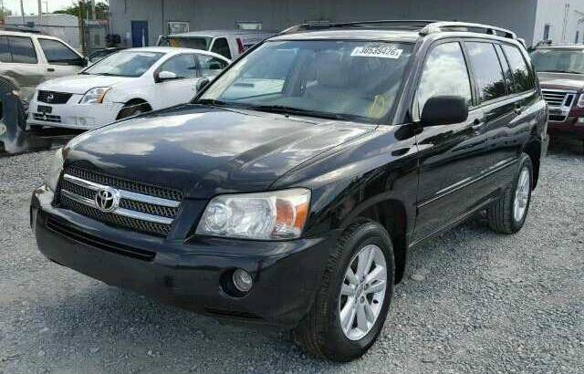 2007 TOYOTA HIGHLANDER GOING FOR AUCTION CALL 07045512391