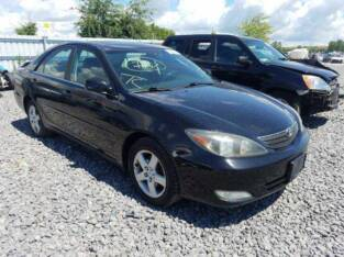 2002 TOYOTA CAMRY PENCIL GOING FOR AUCTION CALL 07045512391