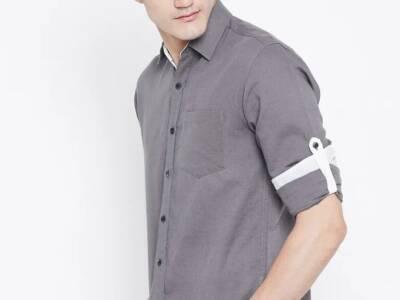 HabereIndia Mark Jillion – Men Shirts (100 % Pure