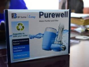 BF Suma Purewell Water Purifier. A must have for e