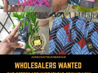 Wholesalers wanted