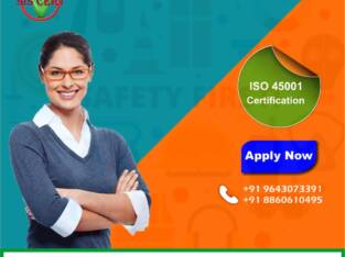 Get ISO 45001 Certification at the best price