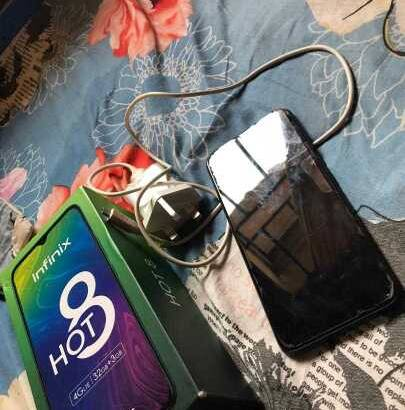 very clean London use infinix Hot 8 for sale