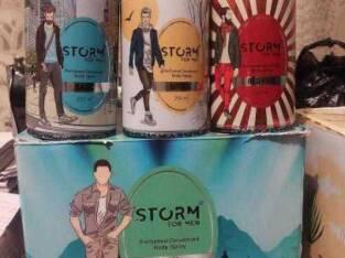 Storm spray
