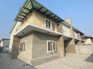 A Brand New 4 Bedroom Semi-detached Duplex