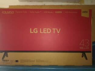 LG 43 Full HD TV
