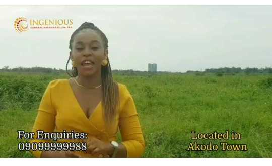 Affordable Land for sale in Akodo town – Vopnu City Empire