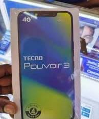 Tecno pouvoir 3 available