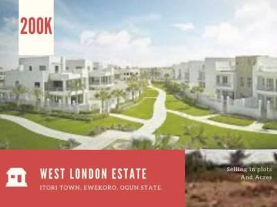 Promo Land For sale in Ogun