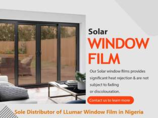 Solar Window Films in Lagos