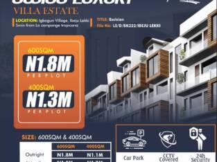 Cheap estate land in ibeju lekki