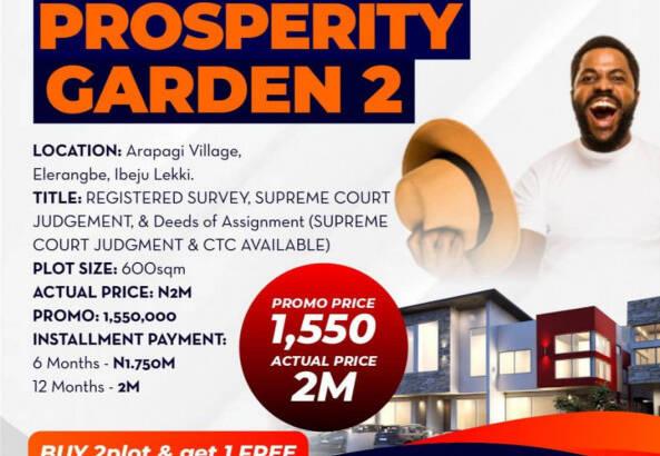 Genuine Estate Land For Sale in New Lagos, Lekki
