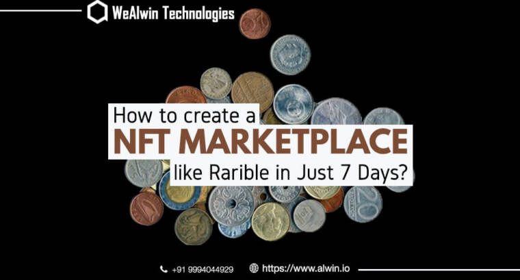 How to create NFT marketplace?