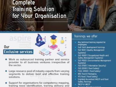 Highfield HACCP and Food safety programs