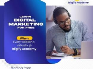 Free Digital Marketing Course With Idigify Academy