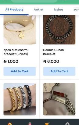 Whatsapp mini E-commerce site