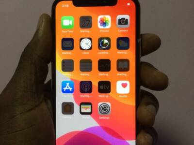 UK used iPhone X, 64g for sale.